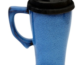 Tall Travel Mug with Handle