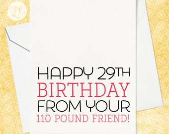 Funny birthday card 40th birthday card 30th birthday card happy 29th birthday best friend birthday card old age birthday card 40th birthday bookmarktalkfo Image collections