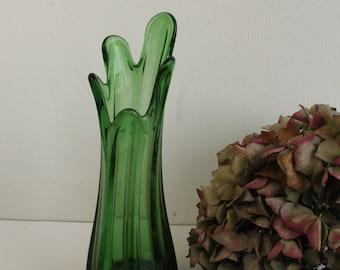 Green Finger Vase