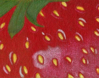 ACEO Strawberry Artwork