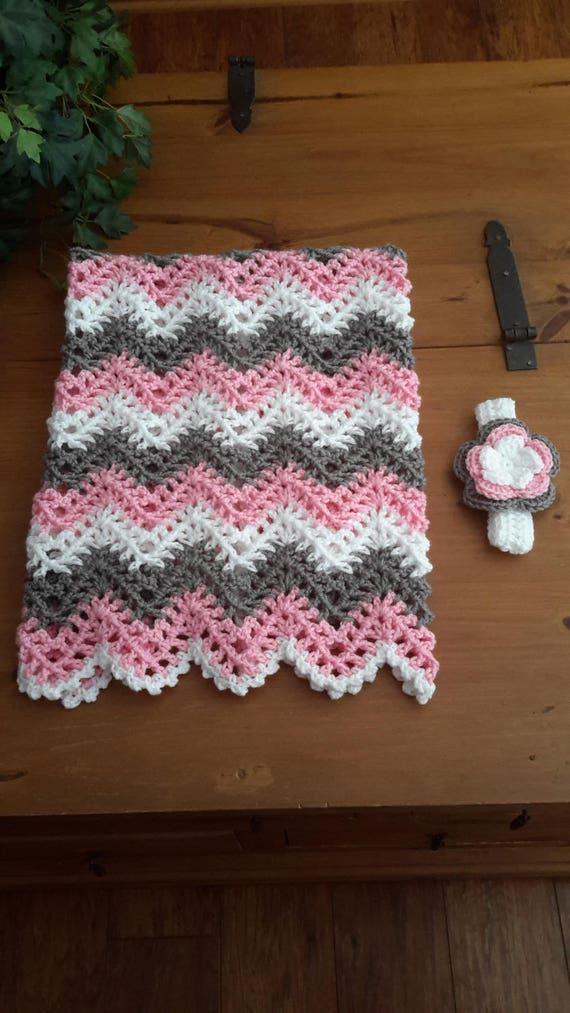 Hermosa Patrón De Crochet Ondulación Principiante Ilustración ...