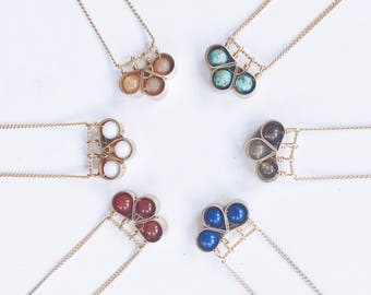 Tobiko Small Clover Necklace