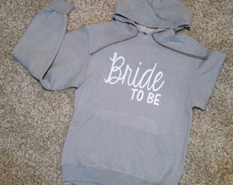 Customized Bride to Be Hoodie