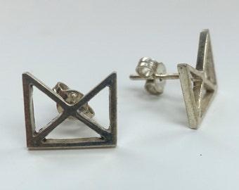 Makahiya Silver Earrings