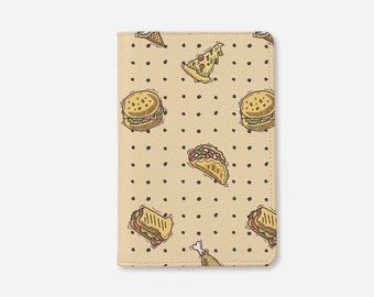 Fast food passport holder personalized passport cover cute passport holder leather passport wallet passport case by wanderlustcover shop