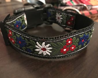 "1"" Edelweiss Flower Collar Sale! One Left!"