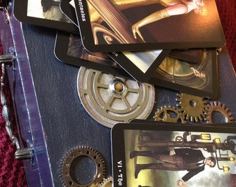 The Steampunk Tarot - one tarot card reading