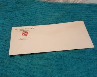 7 up Bottling Company Envelope