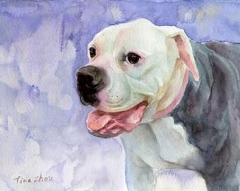 Dog Portrait Custom, Dog Painting Custom, Custom Pet Portrait, Painting From Photo, Gift Art