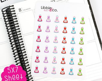 MC155 Apron Stickers! Perfect for Erin Condren, Happy, Mambi, Plum Paper and Personal Planners!
