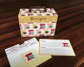 Mixing Mixing Mixers Recipe Box