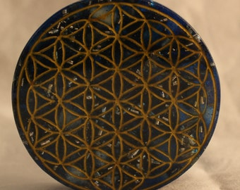 Flower Of Life Orgone Charging Coaster