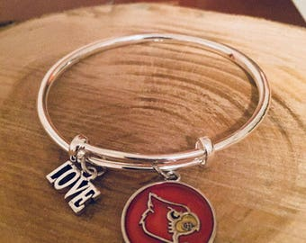 Louisville Cardinals Bracelet