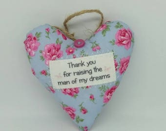 Mother of the Groom, Groom's Mother, Wedding Gift, Mother in Law, Thank You Gift, Man of my Dreams, Thank You