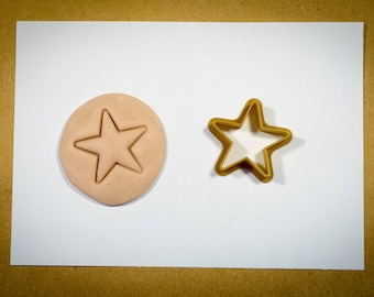 Cookie cutter star Christmas Cookie