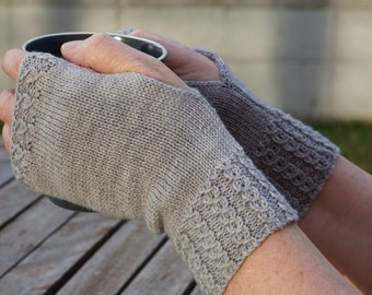 PDF Knitting Pattern - Soul of Ahuriri Fingerless Mittens