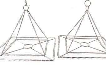 chandelier christmas cristal frame crystal du compris acheter centerpiece pas weddingchristmas round y com de wedding product party no sweetweddingprops including perle dhgate bead