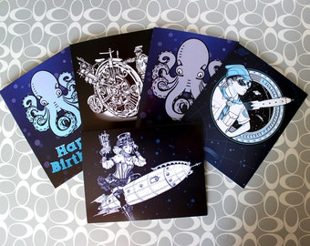 Greeting Cards - Set of Five
