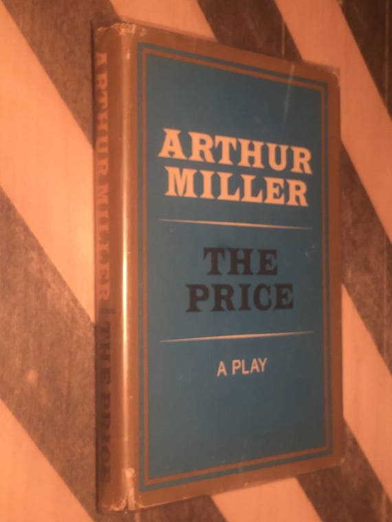 The Price by Arthur Miller (1968) first edition book