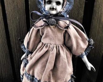 "Candika 8"" OOAK Porcelain Horror Doll"