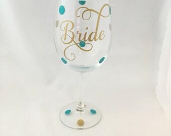 Bride Wine Glass, Bride Wine Glasses, Bridal Wine Glasses, Bridal Shower Wine Glass, Bridal Shower Wine Glasses