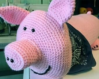 This Little Piggy Pillow  - Sample Sale
