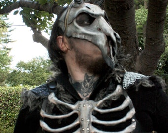Leather Rib Cage Armor Harness