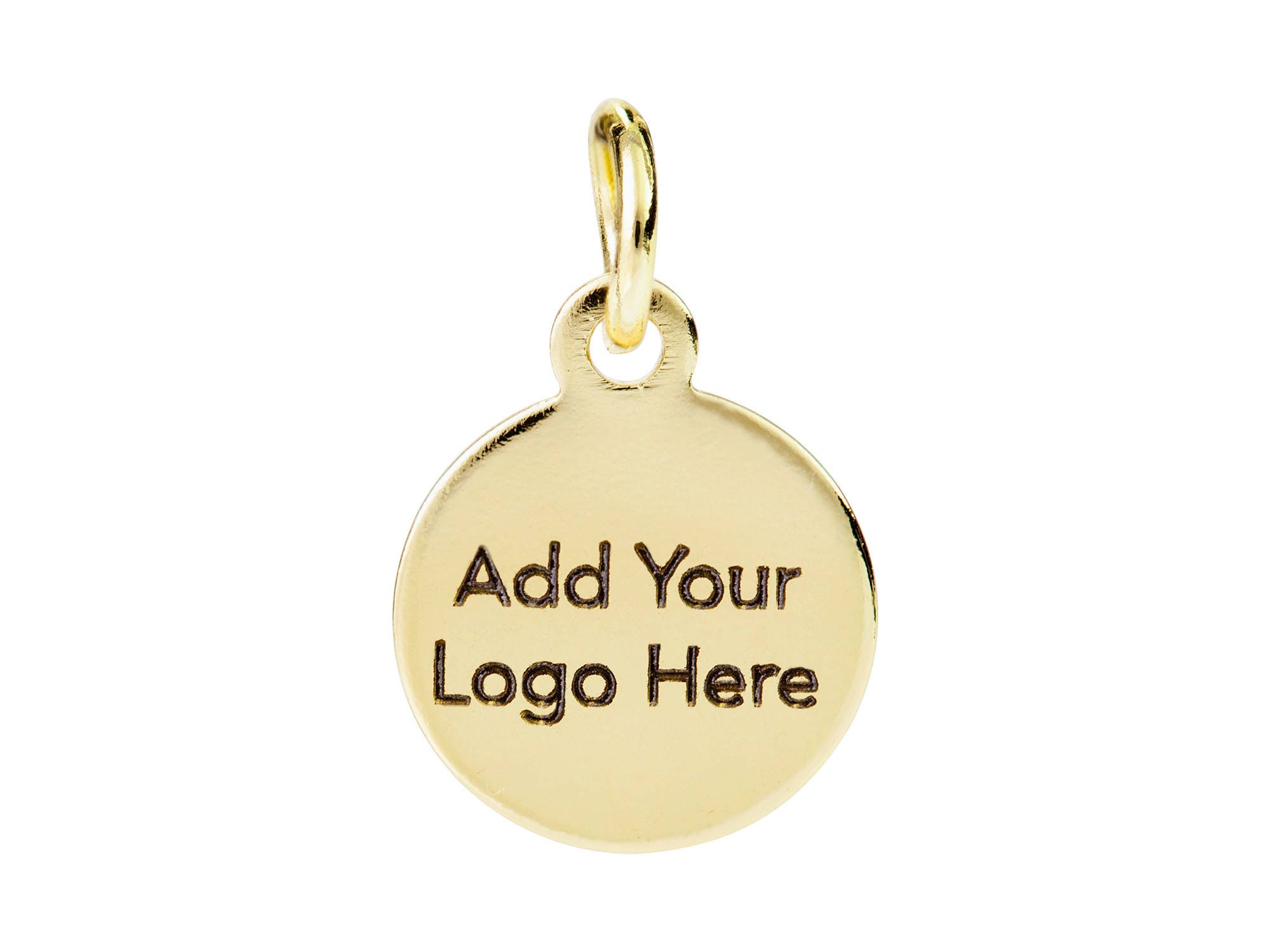 Custom Jewelry Tag Custom Metal Tag with Logo Laser Engraved
