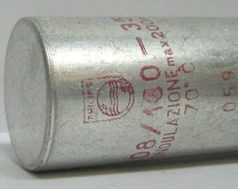 Electrolytic vintage capacitor 100uF 350V