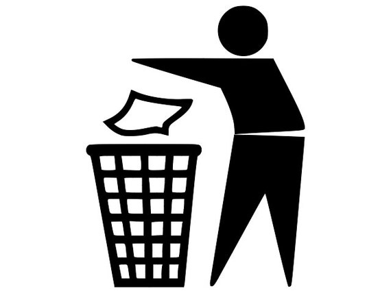 Vector Do Not Throw In Trash Recycle Bin Sign Icon Csp39433397