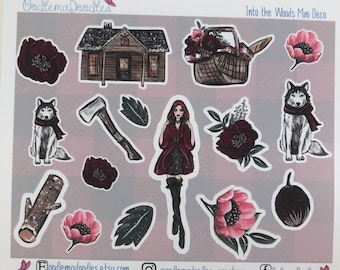 Into the Woods Decorative Stickers