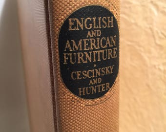 English and American Furniture 1929