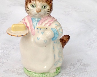 Beswick Beatrix Potter figure 'Mrs Ribby' 1951