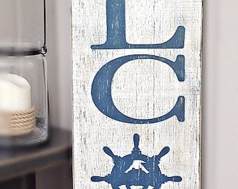 Nautical Welcome Porch Sign