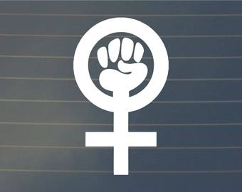 DECAL | Feminist | Vinyl Decal, Car Decal, Feminist Decal, Feminist Sticker, Laptop Decal, Laptop Sticker, Feminist Gift, Phone Decal