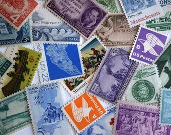 Vintage Stamps for Invitations