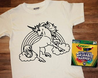 Kid's Coloring T-shirts