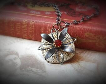 DAISY'S JOURNEY - Steampunk Vintage Necklace