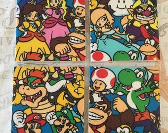 Nintendo Classic coasters (set of four) *last available*