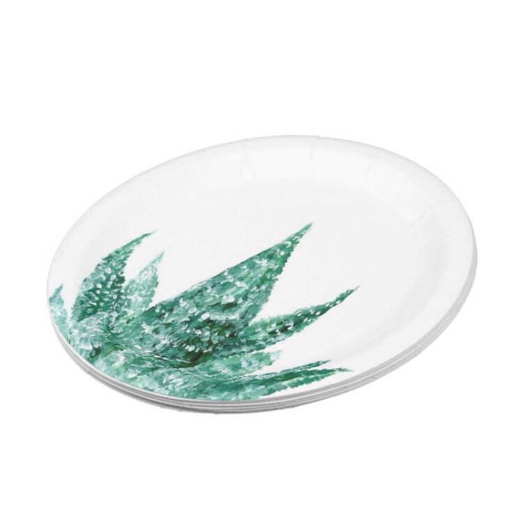 $19.90  sc 1 st  Etsy Studio & Cactus Paper Plates succulent plates cactus paper plate cactus ...