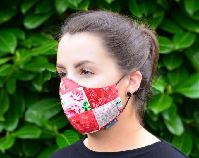 MASKERAID® Patchwork Reusable Cotton Face Mask
