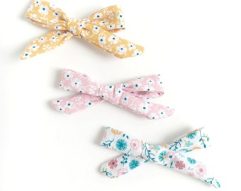 Summer Baby Bow Headband Bundle