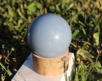 Blue Angelite Sphere