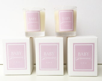 Soy Candle Baby Shower Favours