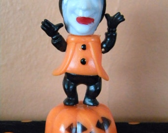 Vintage Fun World Collapsable Witch Halloween Toy Hong Kong