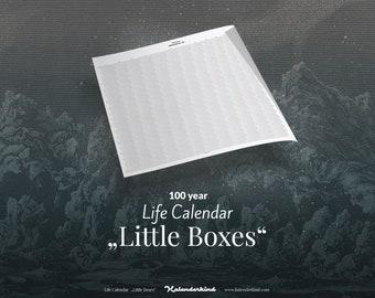 "Life Calendar ""Little Boxes"""