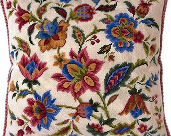 TP 041 Indienne Tapestry Needlepoint Cushion Kit