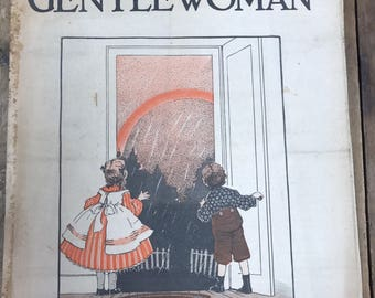 Lot of 9 Vintage The Gentlewoman Magazines from 1930