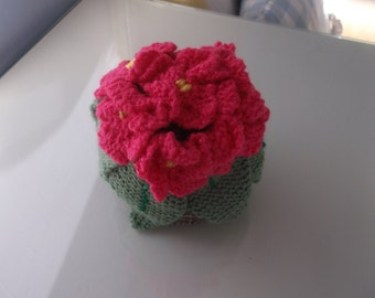 Knitted Plant Pot