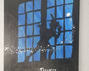 peter pan painting
